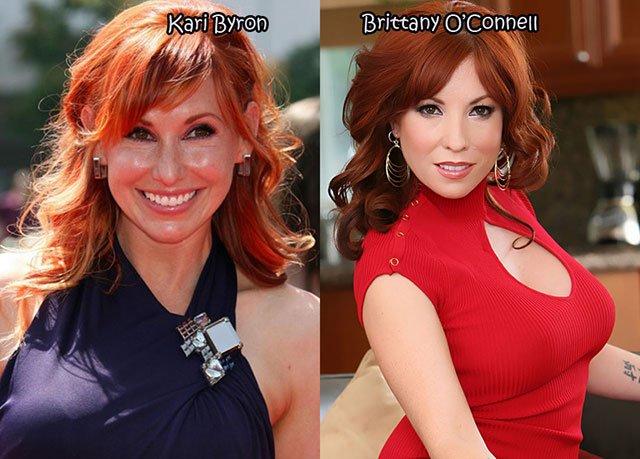 27.Kari Byron Brittany O'Connell