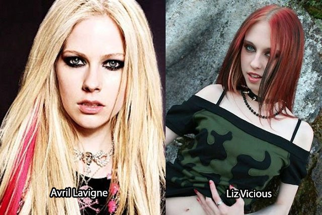 46.Avril Lavigne Liz Vicious