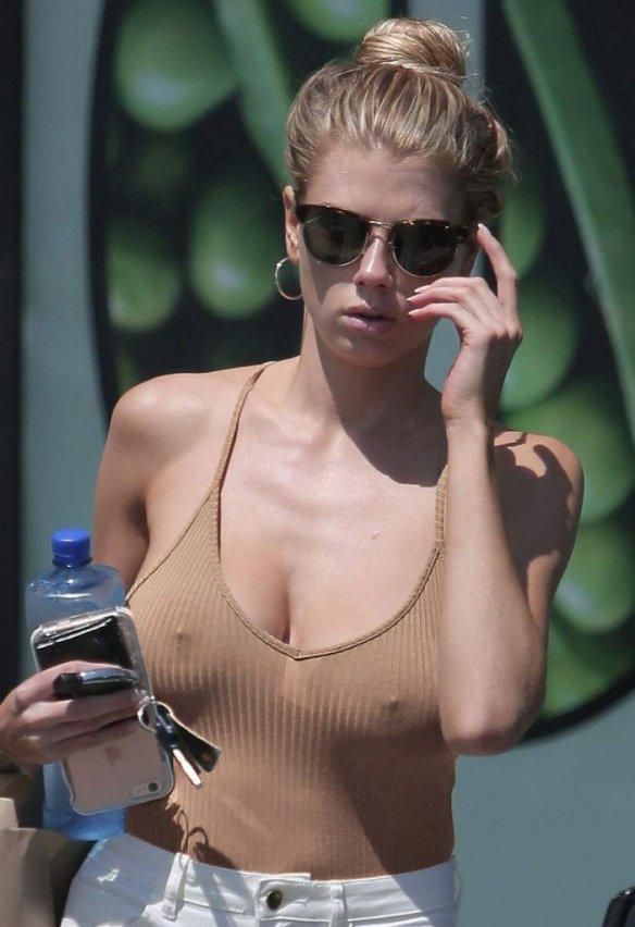 Charlotte McKinney Braless 21