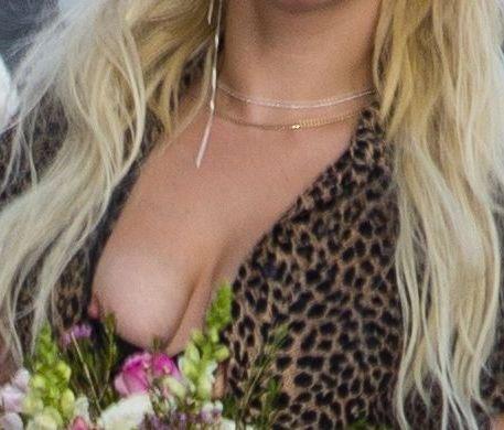 Lady Gaga Nip Slip 8
