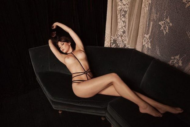 Nude and Lingerie Photoshoot: Solveig Mork Hansen, Daisy Lowe, Tali Lennox (18 Photos)