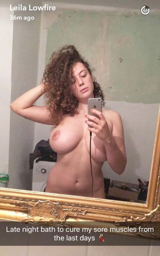 Deutsche Podcasterin und Schauspielerin Leila Lowfire nude photos leaked The Fappening 2019