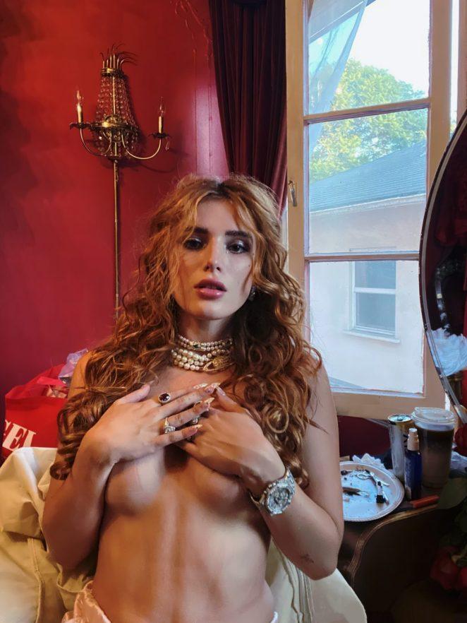Bella Thorne Topless 2