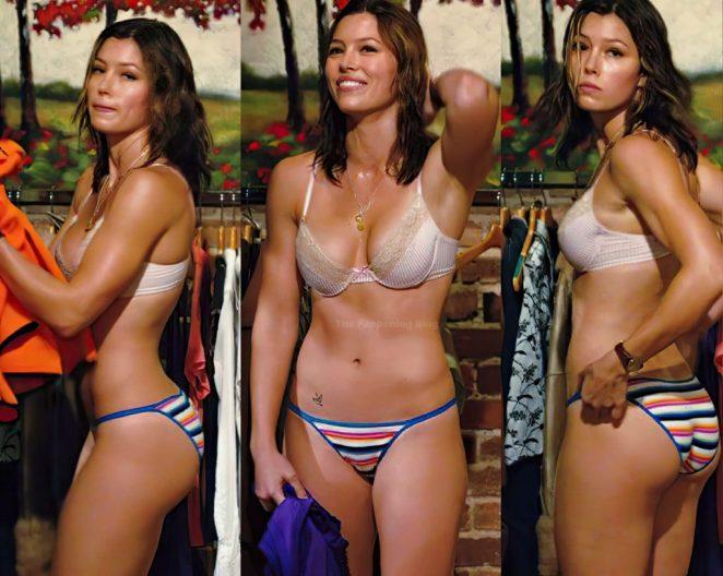 Jessica Biel Topless 5