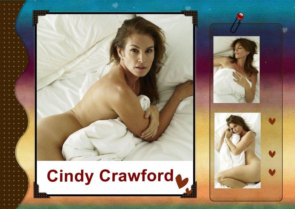 Cindy Crawford Naked (7 Photos)