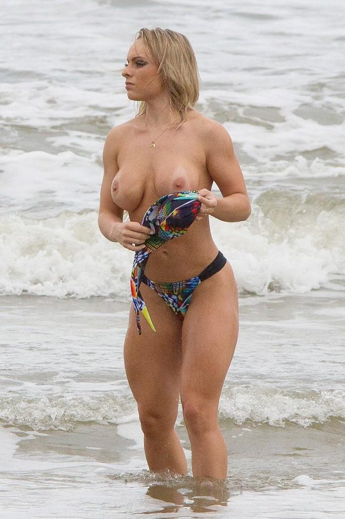 Indianara Carvalho Topless (10 Photos)