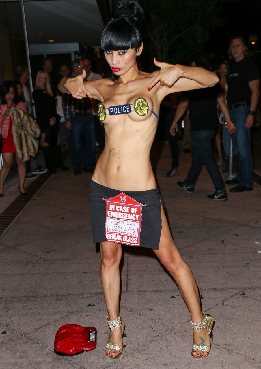 Bai Ling Topless (10 Photos)