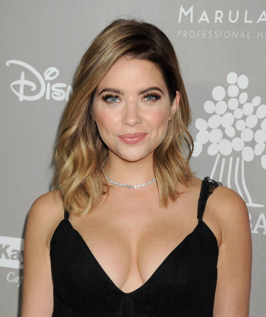 Ashley Benson Cleavage (7 Photos)