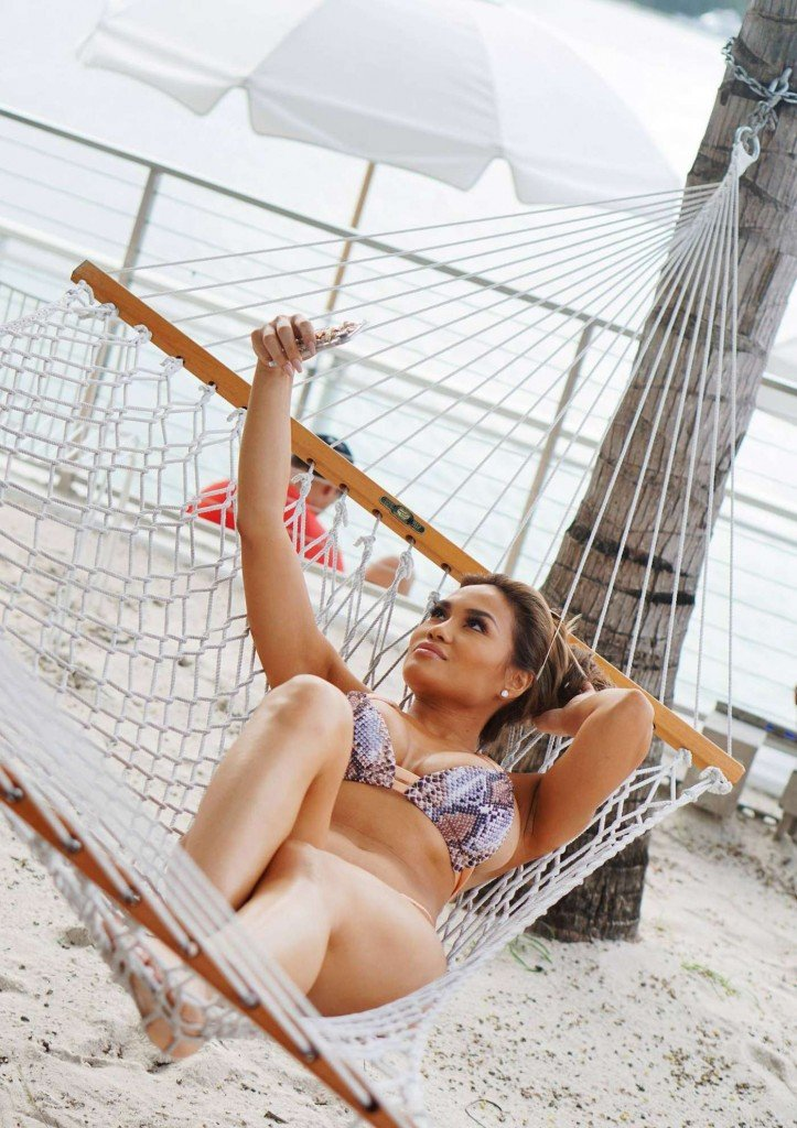Daphne Joy in Bikinis (8 Photos)