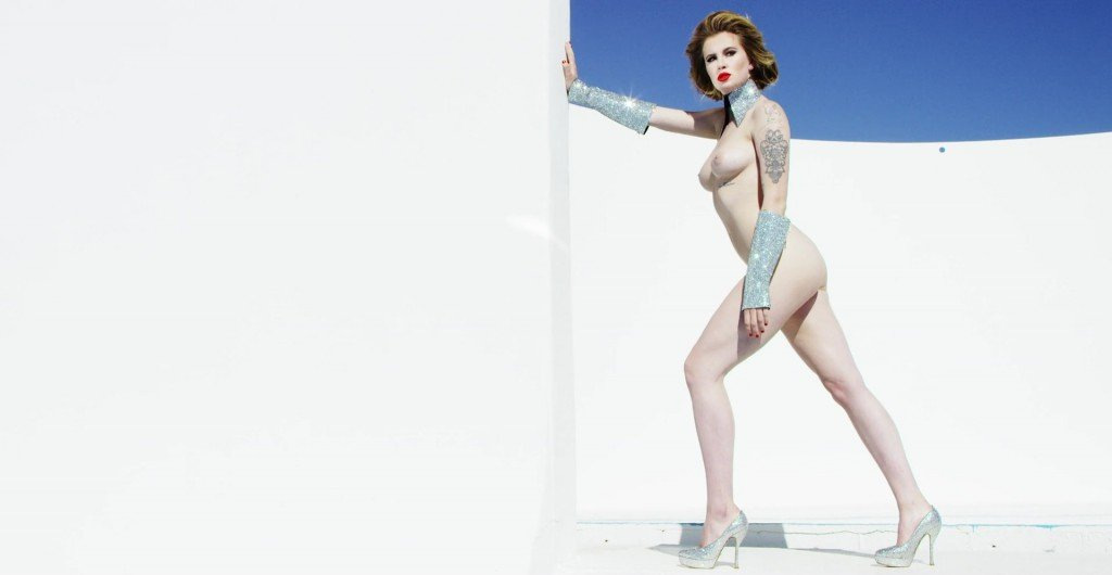Ireland Baldwin Topless – Treats Magazine (2016)