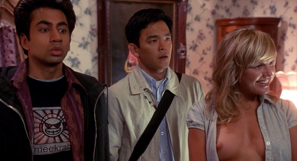 Malin Akerman Nude – Harold and Kumar (2004) HD 1080p