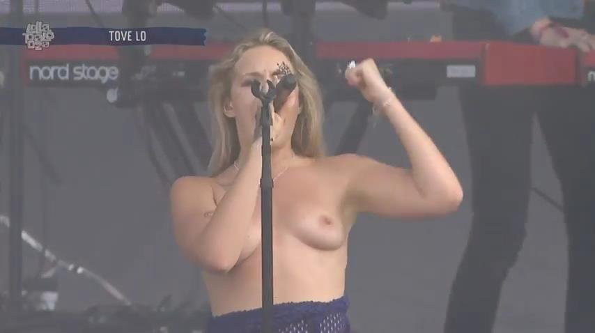 Tove Lo Topless (18 Pics + Gif & Video)