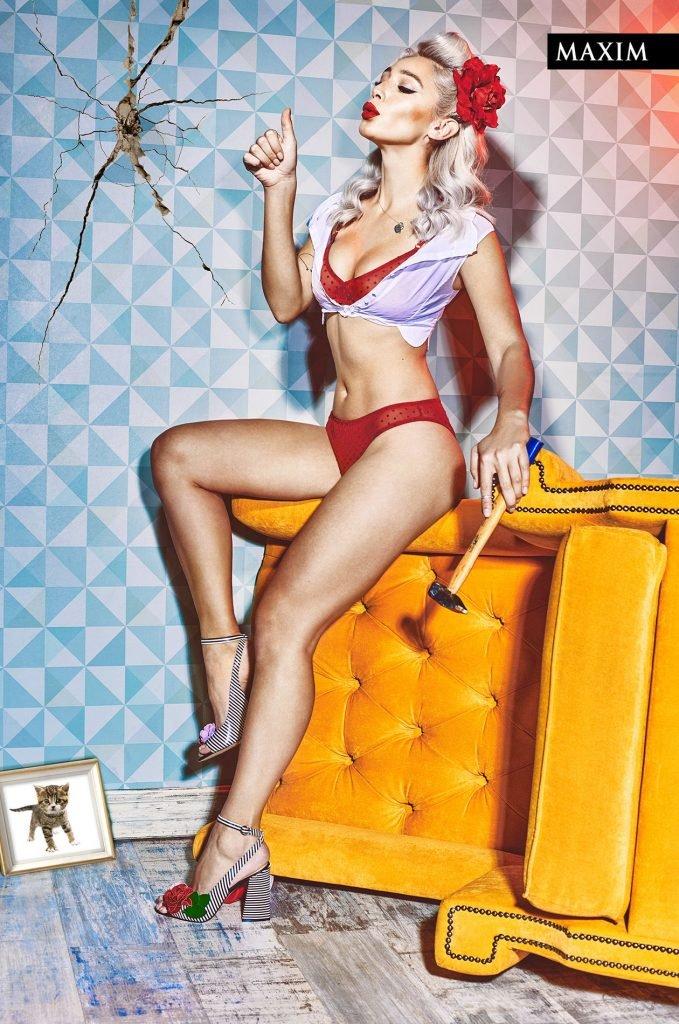 Anastasiya Ivleeva Sexy (6 Photos)