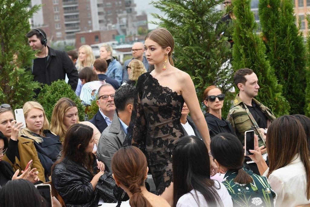 Gigi Hadid See Through (6 Photos + Video)
