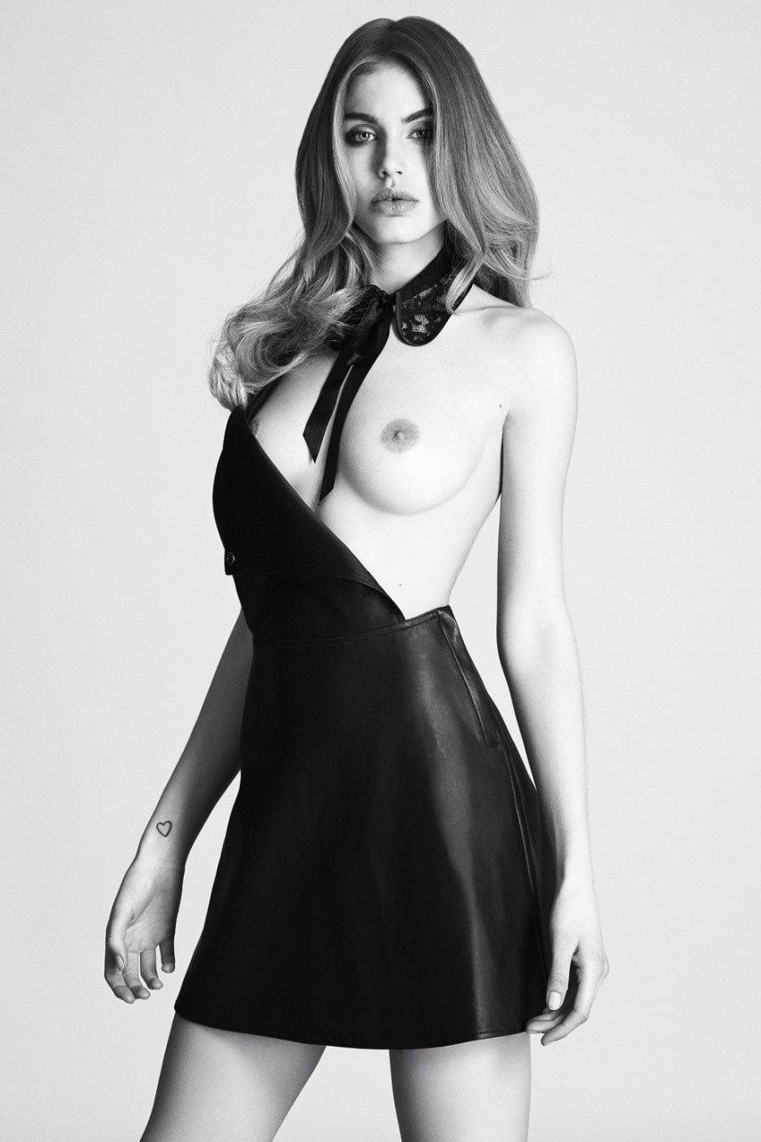 Maja Krag Sexy & Topless (8 Photos)