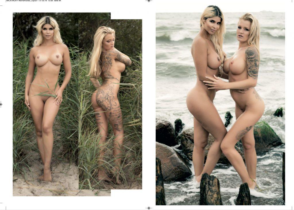 Micaela Schäfer & RoxxyX Nude (6 Photos)