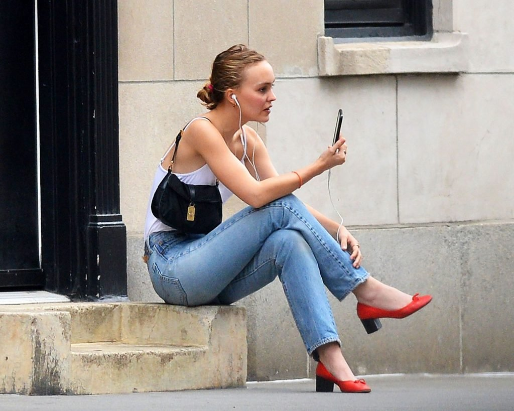 Lily-Rose Depp Braless (17 Photos)