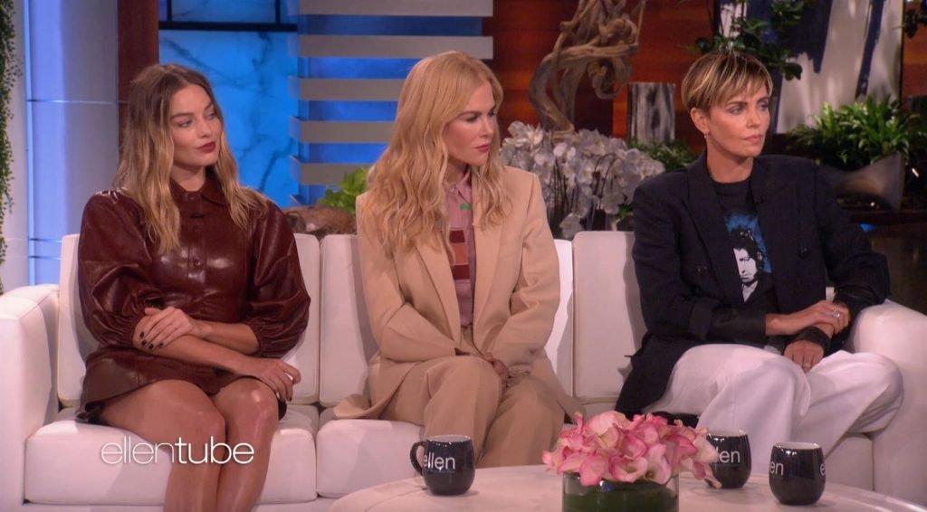 Charlize Theron, Nicole Kidman, Margot Robbie Sexy (17 Pics + Video)