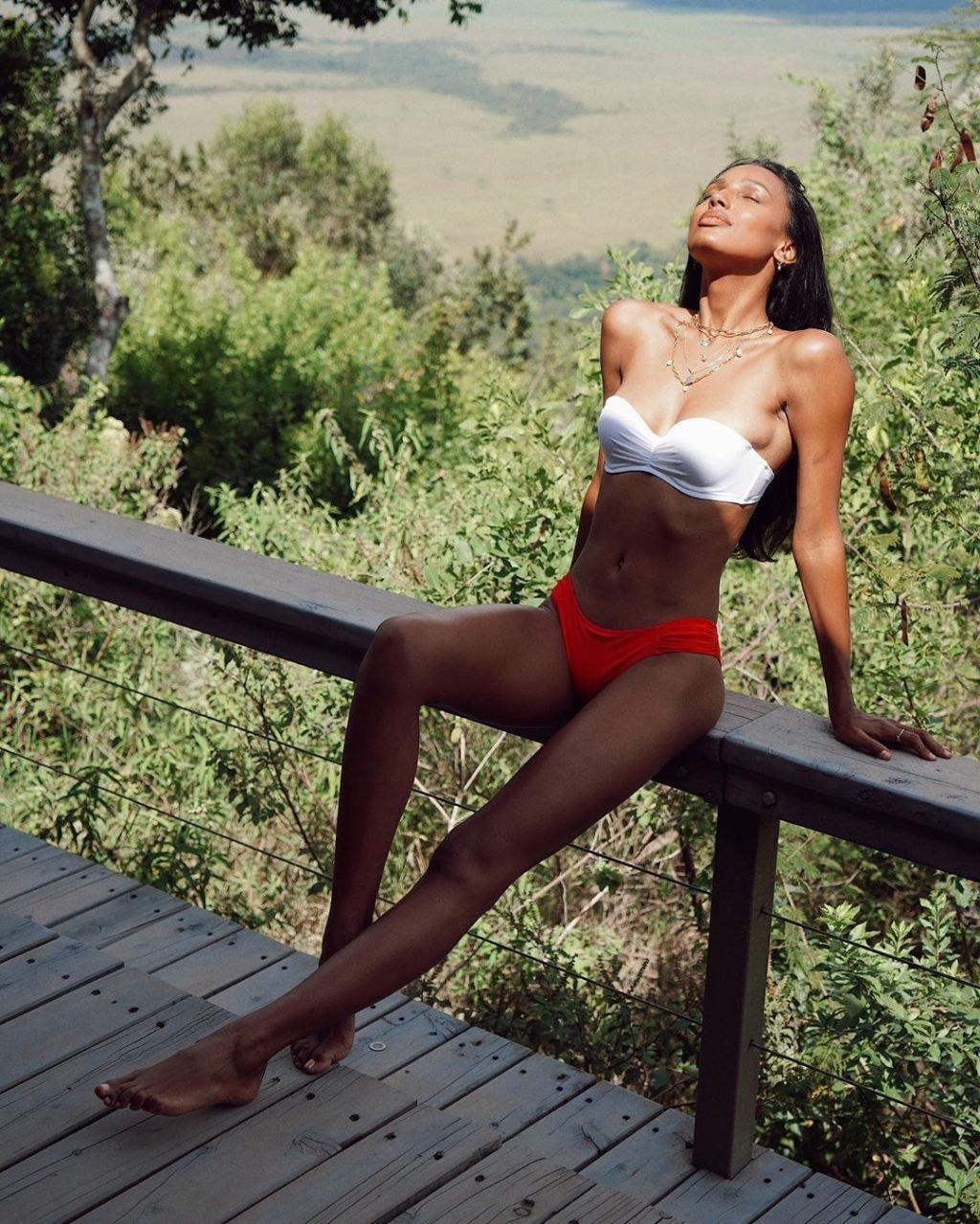 Jasmine Tookes Nude & Sexy (14 Photos)