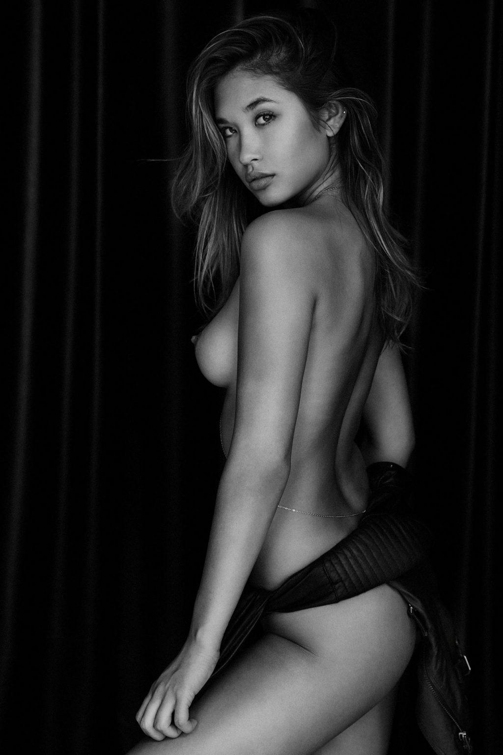 Jocelyn Chew Topless (2 Photos)