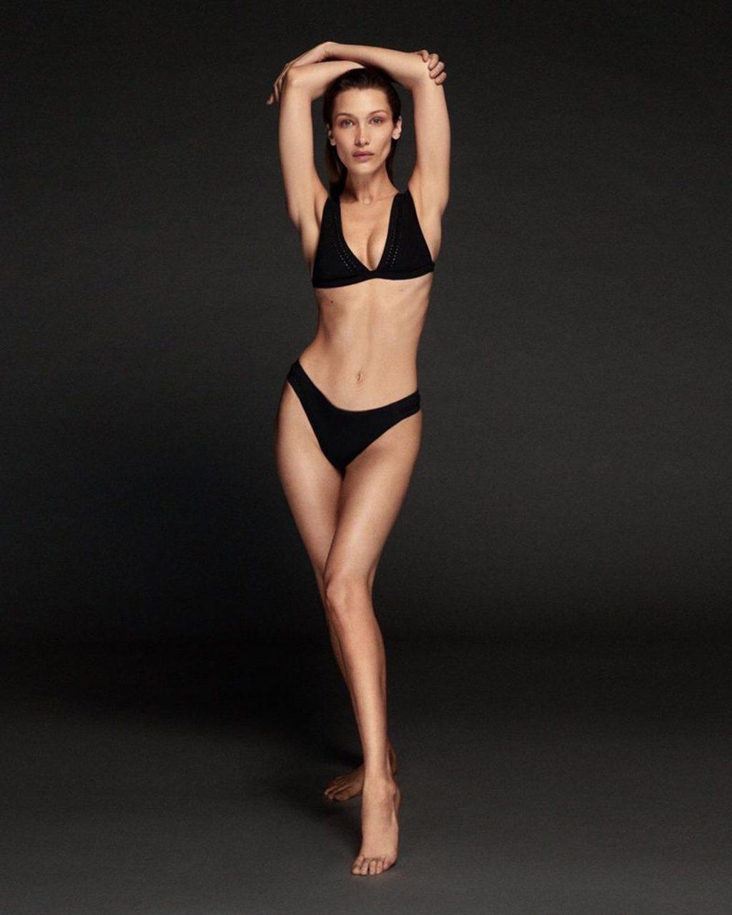 Bella Hadid, Abby Champion Sexy (5 Photos)