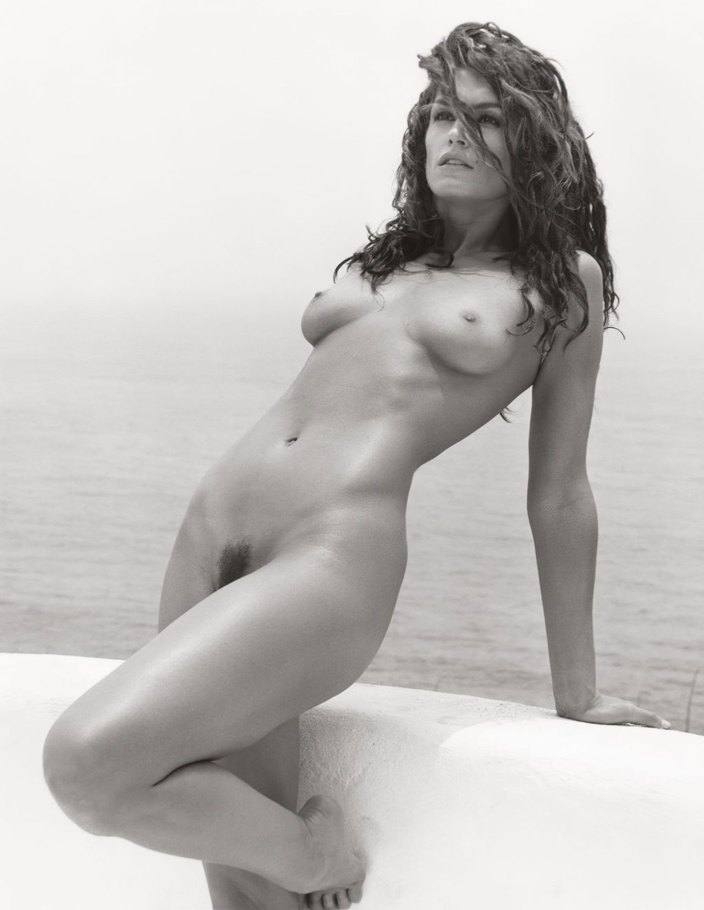 Cindy Crawford (2 Nude Photos)