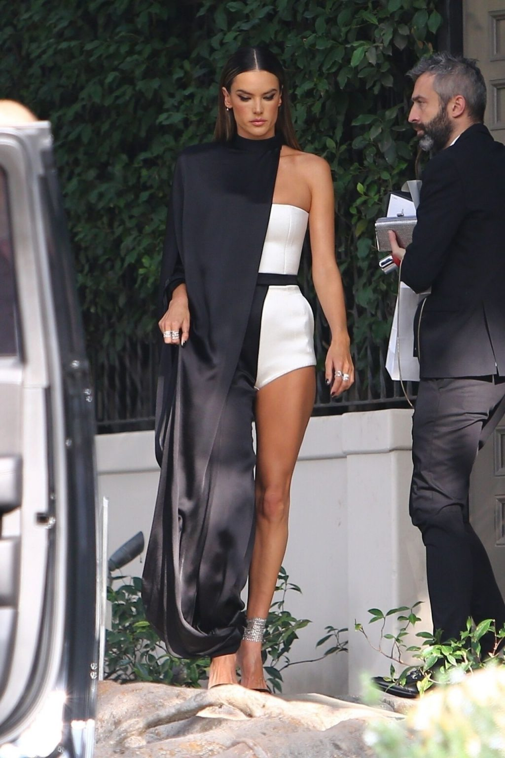 Alessandra Ambrosio Looks Stunning Ahead of the Grammys (22 Photos + Video)