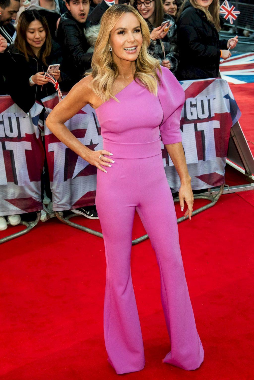 Amanda Holden's Pokies at the Britain's Got Talent Event (54 Photos)