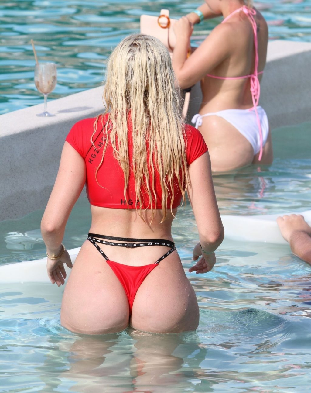 Chloe Ferry Shows Off Her Voluptuous Figure in Thailand (29 Photos)