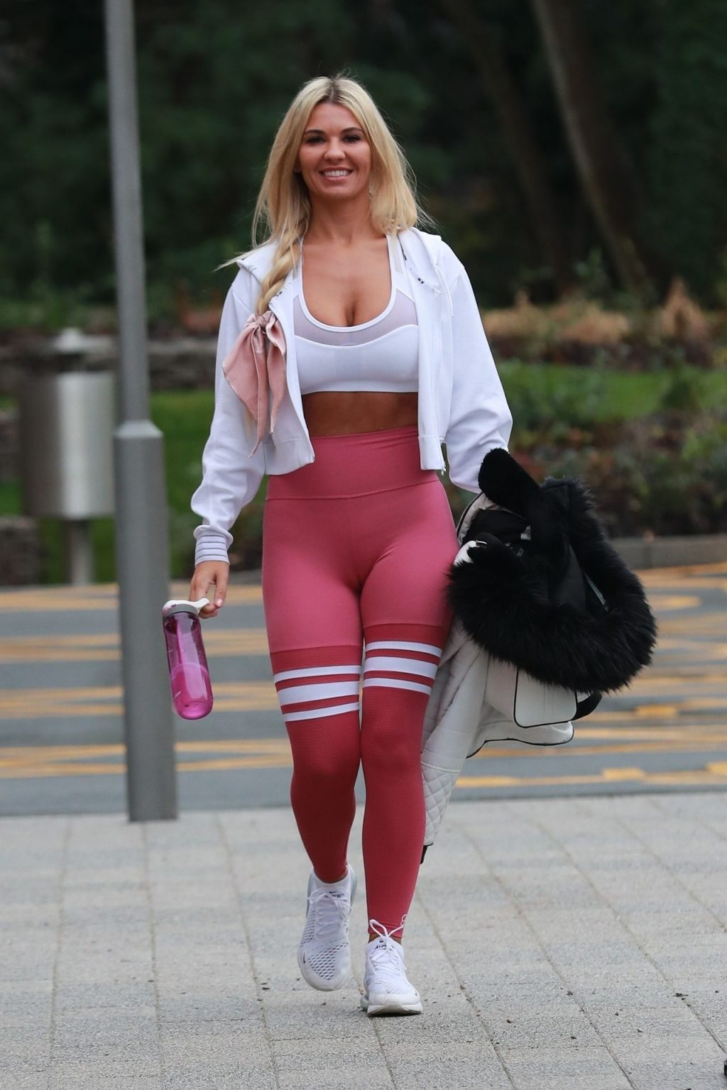 Busty Christine McGuinness Leaves a Gym (32 Photos)
