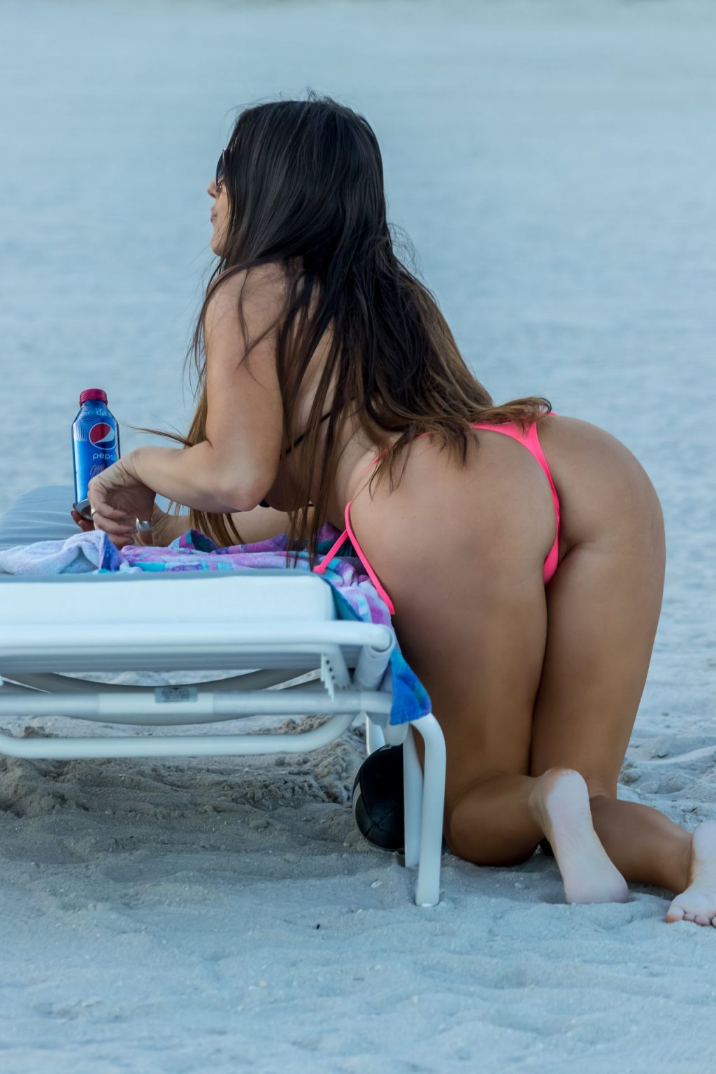 Claudia Romani Shows Off Her Butt for the Super Bowl (25 Photos)