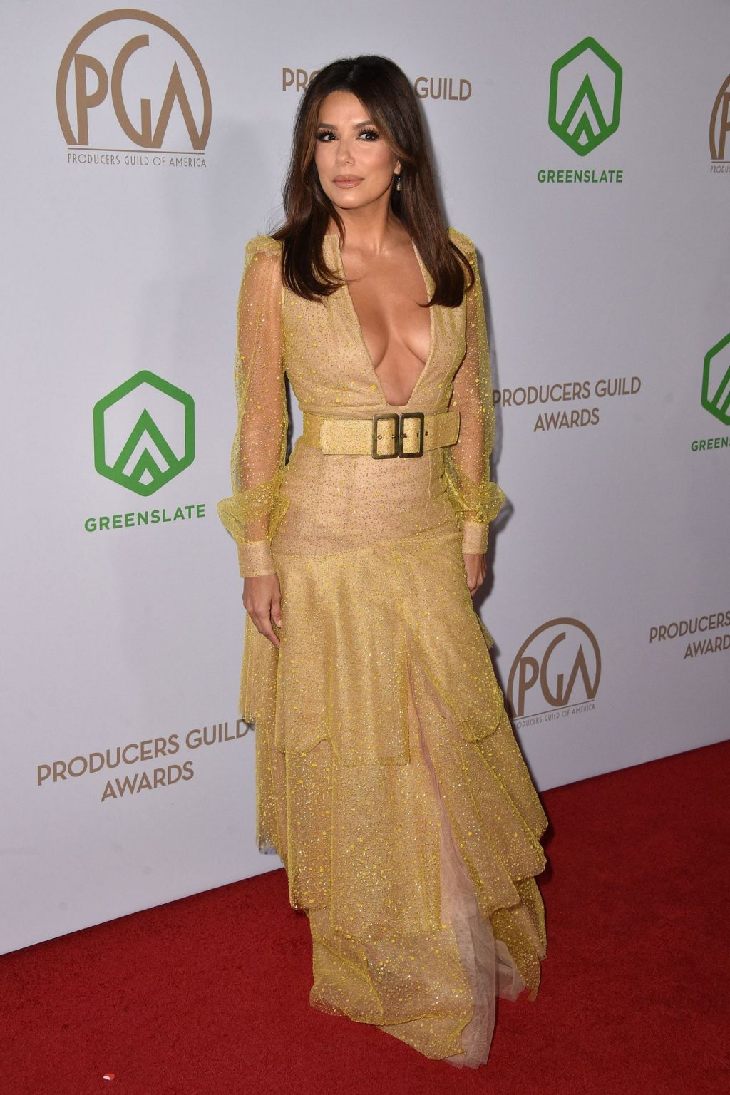 Eva Longoria Displays Her Cleavage at the Producers Guild Awards (25 Photos)