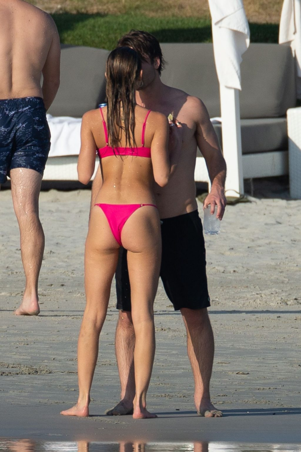 Glen Powell Packs on the PDA with Gigi Paris in Mexico (26 Photos)