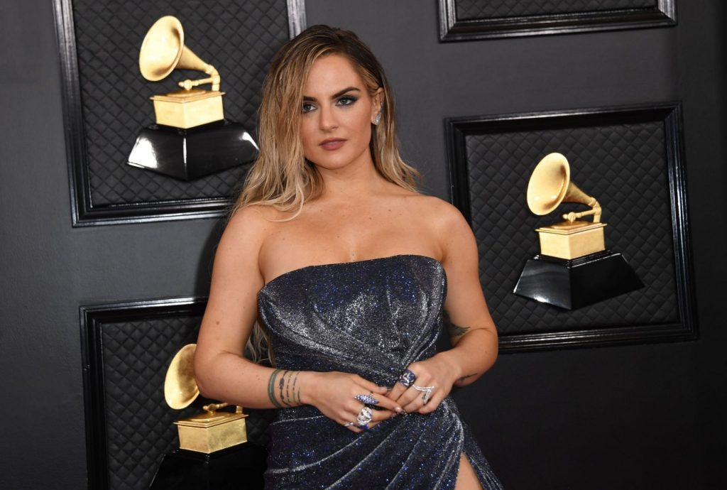 JoJo Shows Her Legs and Cleavage at the 62nd Annual Grammy Awards (42 Photos)