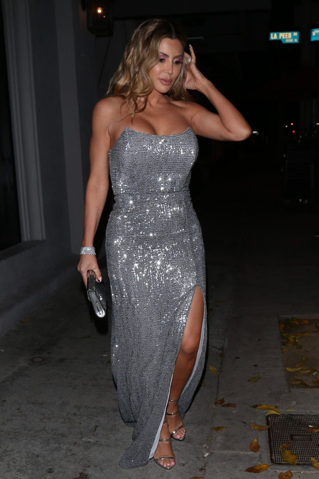 Busty Larsa Pippen Spotted Leaving Dinner at Craig's (87 Photos)