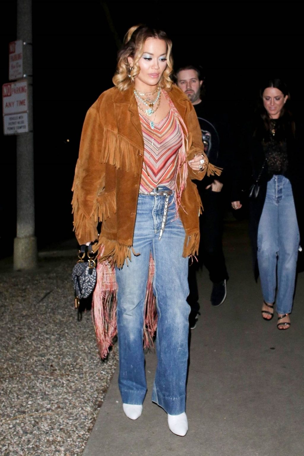 Braless Rita Ora Steps Out with Friends in Los Feliz (11 Photos)