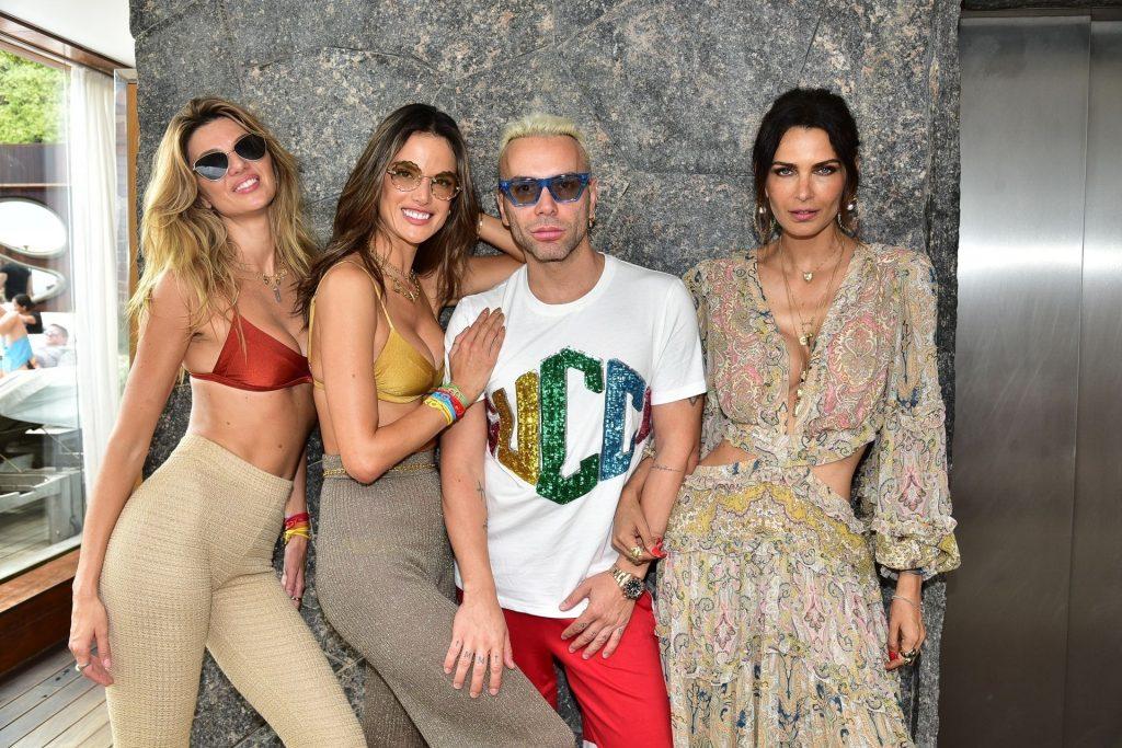 Alessandra Ambrosio Celebrates Carnival with Her Brand Gal Floripa (16 Photos)