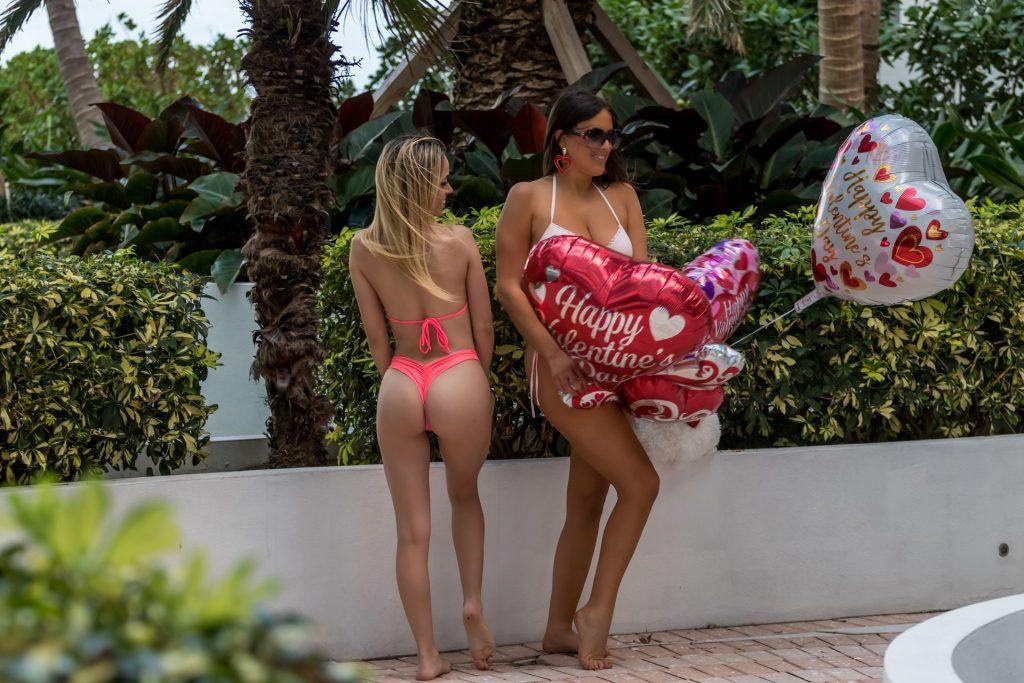 Claudia Romani and Cloe Greco are Spreading the Love for Valentine's Day (27 Photos + Video)