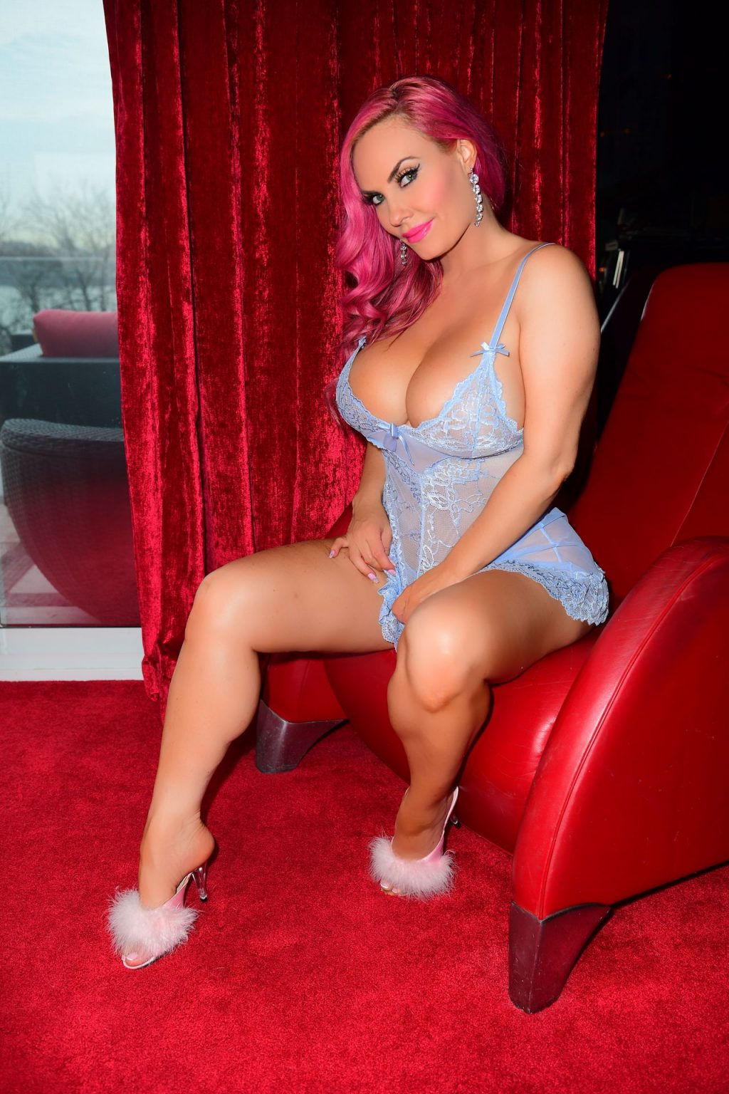 Coco Austin Turns Up The Heat In Steamy Lingerie Photoshoot (16 Photos)