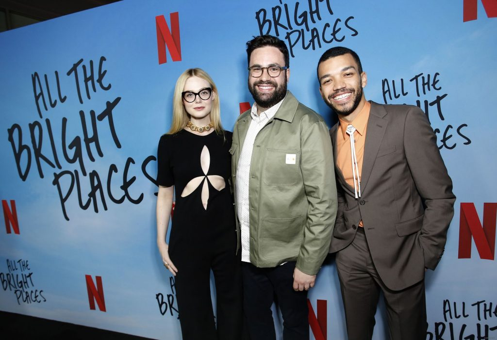 Elle Fanning Shows Her Small Tits at the Netflix's All The Bright Places Special Screening (82 Photos)