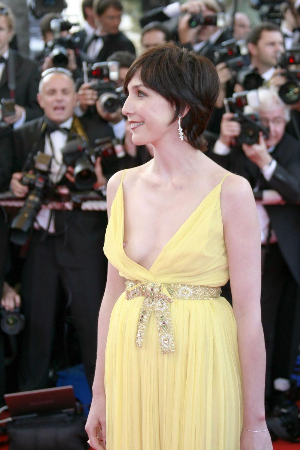 Elsa Zylberstein's Nip Slip in Cannes (11 Photos)