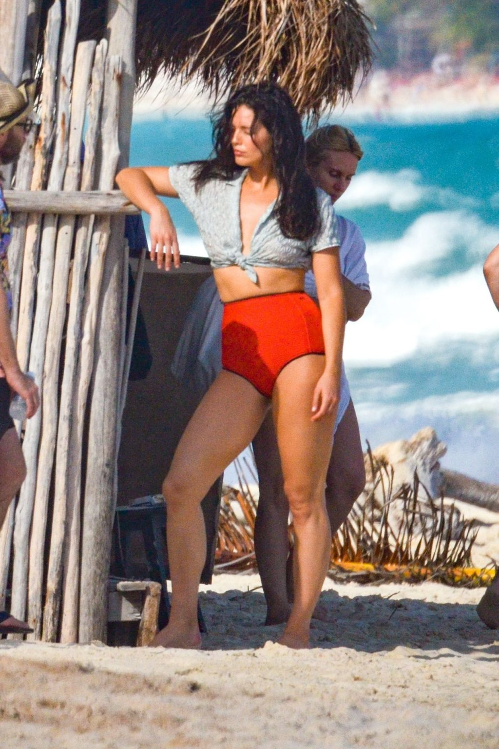 Emily DiDonato Goes Topless for a Beachside Shoot in Tulum (55 Photos)