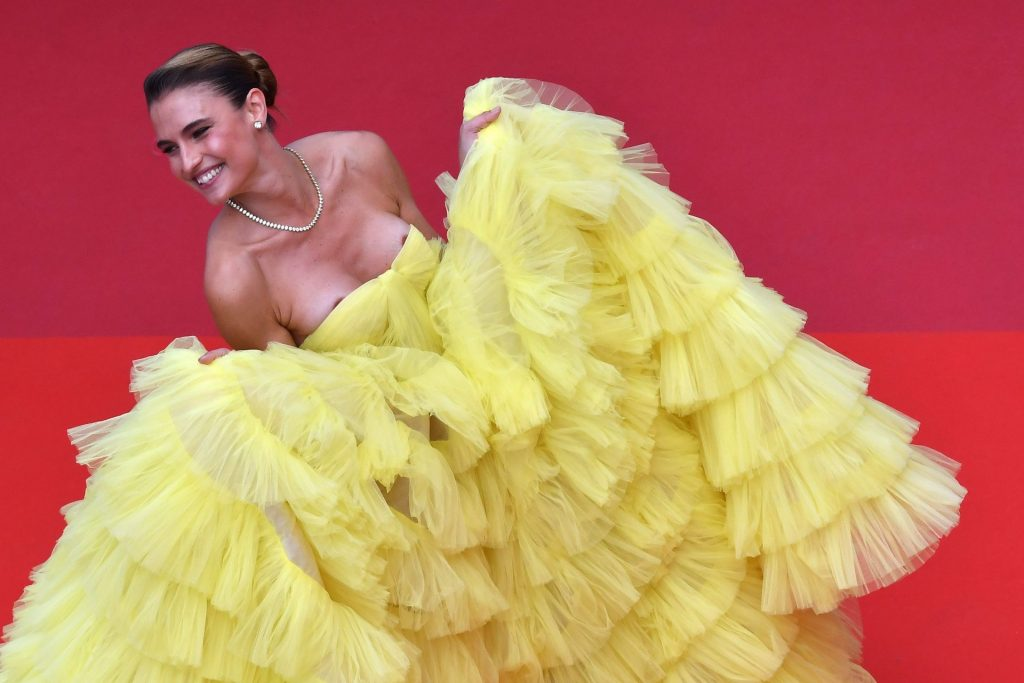 Fernanda Liz Has a Double Nip Slip at the 72nd annual Cannes Film Festival (12 Photos)