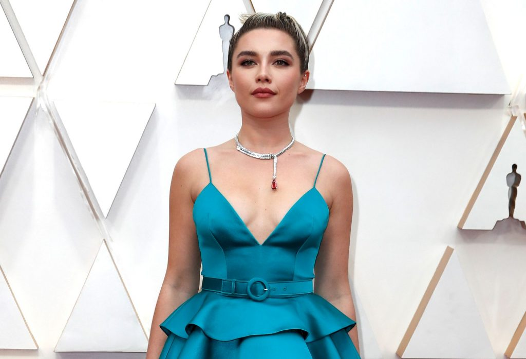 Florence Pugh Flaunts Her Tits at the 92nd Academy Awards (8 Photos)