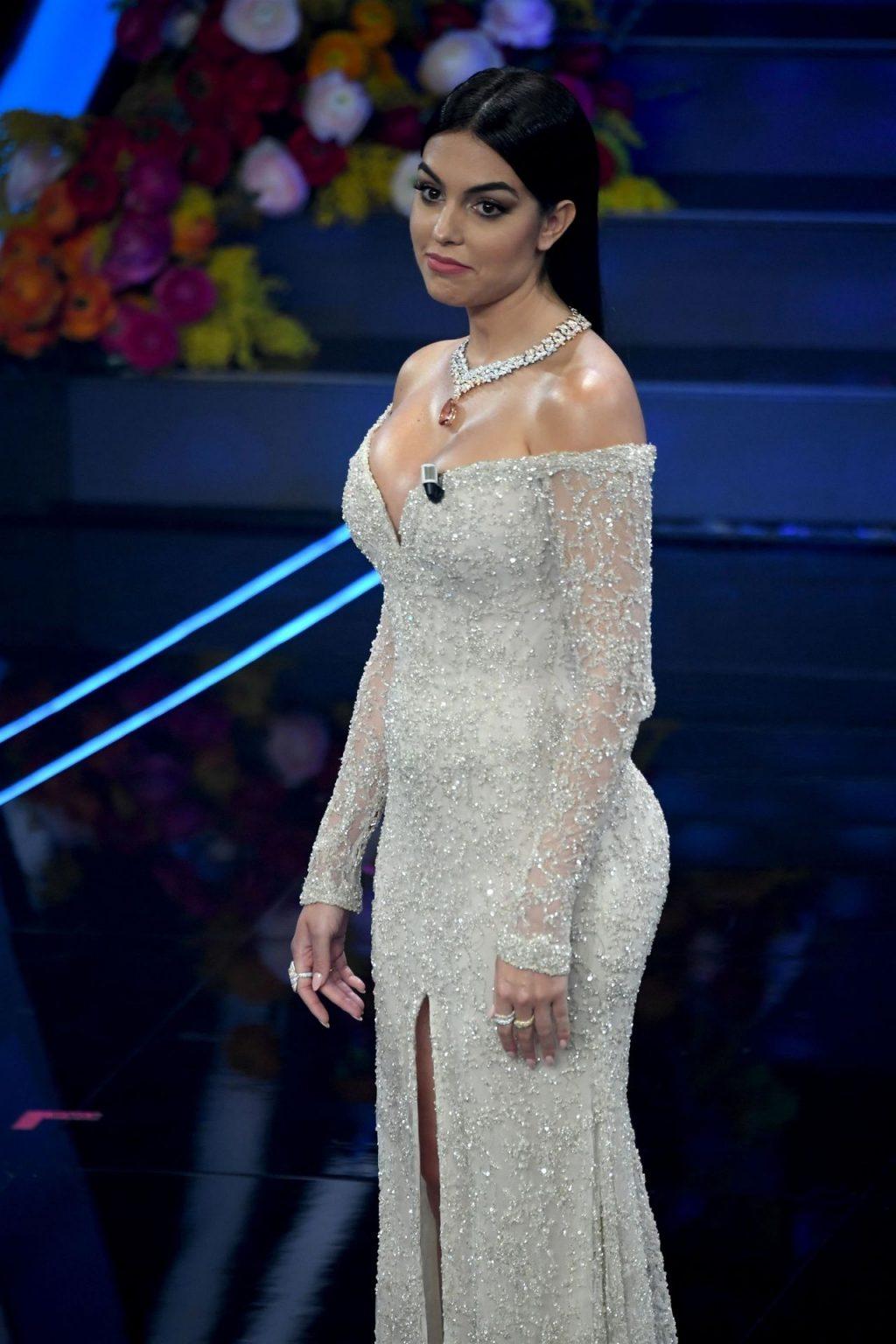 Georgina Rodriguez Wows at the 70th Sanremo Music Festival (57 Photos)