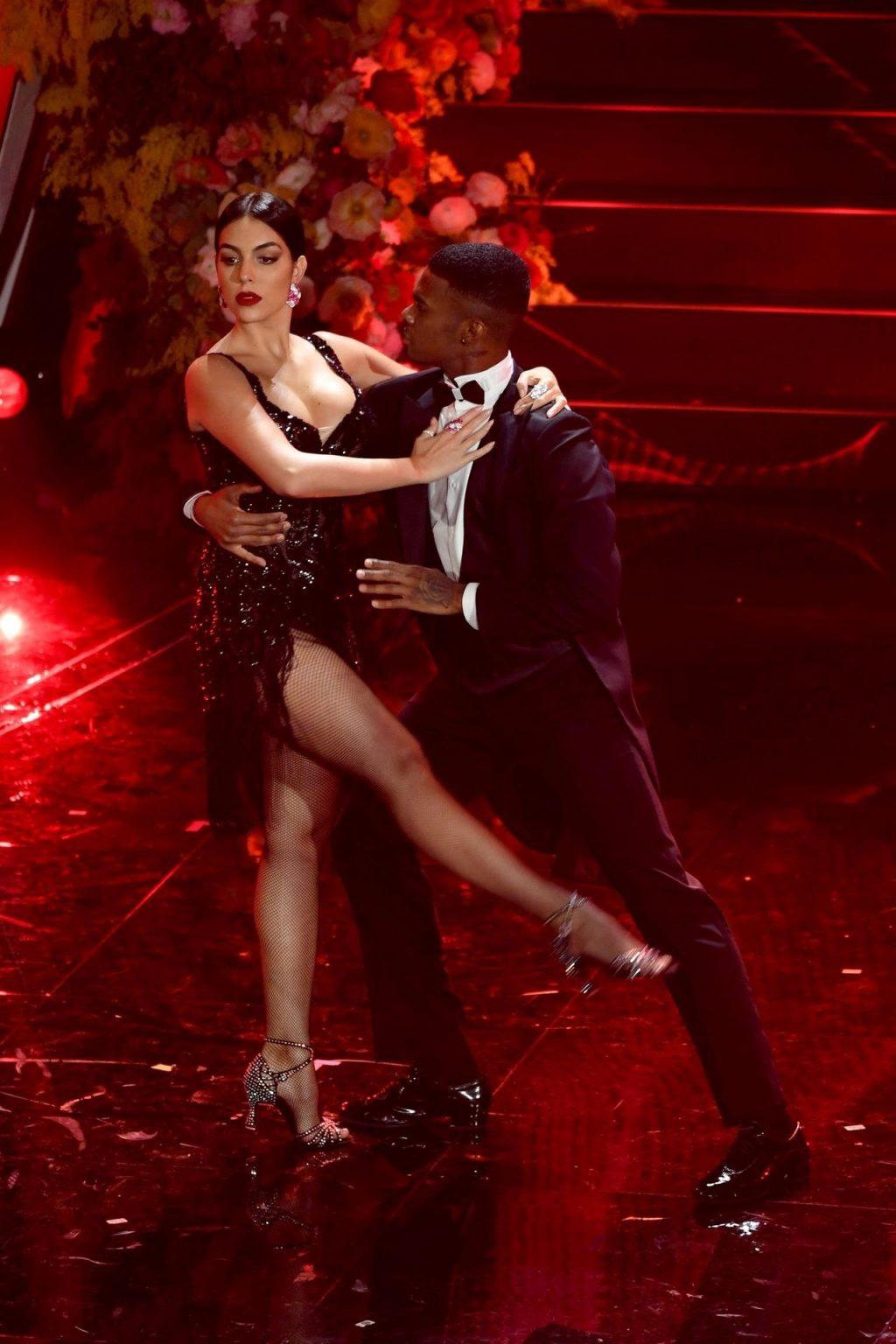 Georgina Rodriguez Performs at the 70th Italian Sanremo Song Festival (107 Photos)