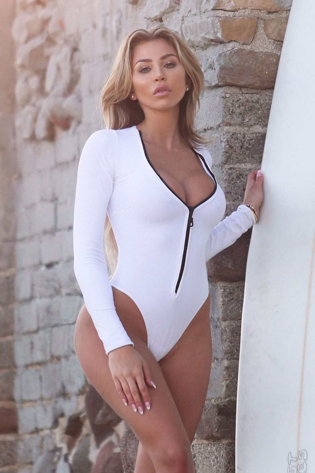 Khloe Terae Poses in a Malibu Beach Photoshoot for 138 Water (54 Photos)