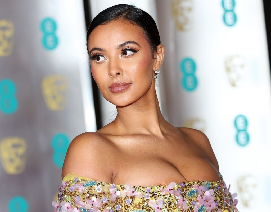 Maya Jama Shows Her Boobs at the BAFTA After Party in London (26 Photos)