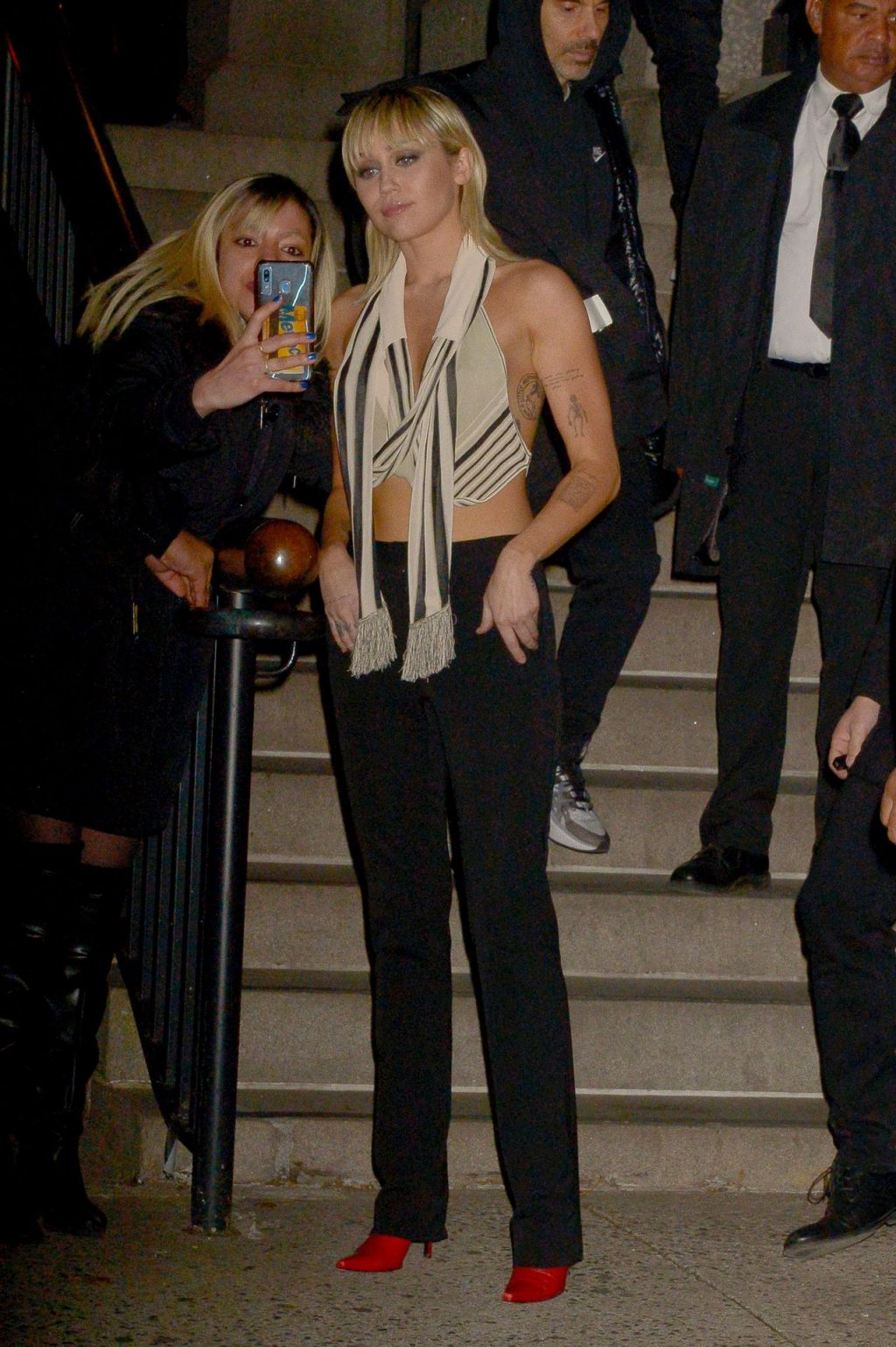 Miley Cyrus is Very Revealing After Marc Jacobs Fashion Show in NYC (204 New Photos)