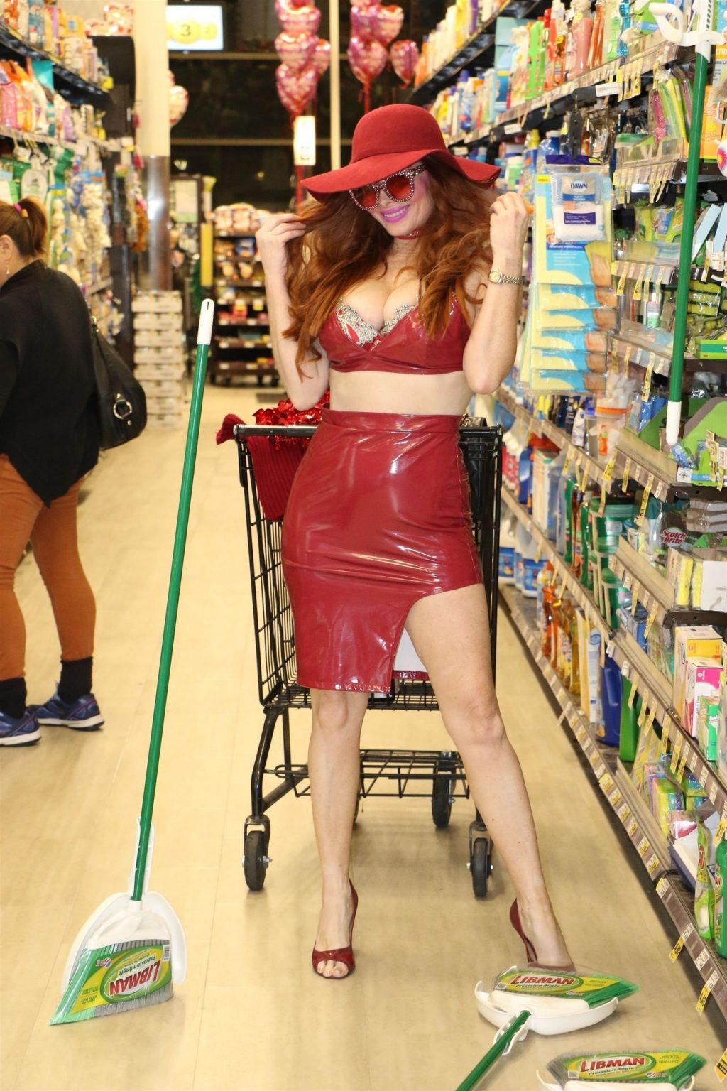 Phoebe Price Wishes You a Happy Valentine's Day in Beverly Hills (66 Photos + Video)